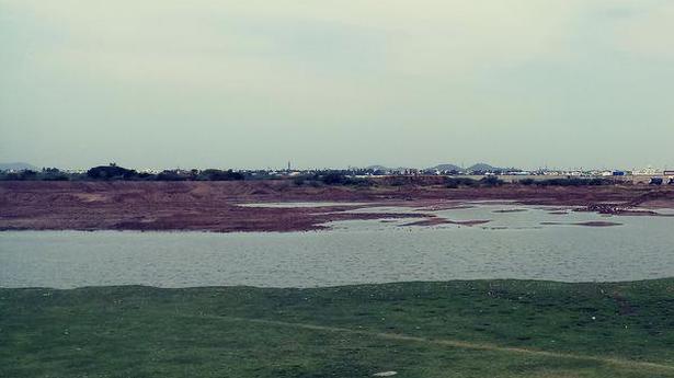 A lake district in Chennai?