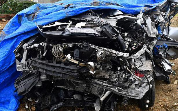 5 youth killed as car rams parked lorry