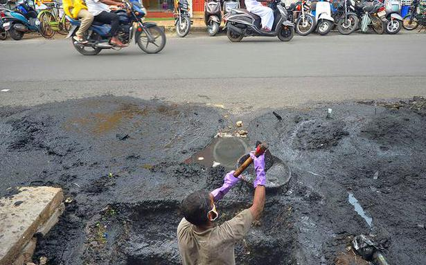 File written undertakings against manual scavenging: HC to officials