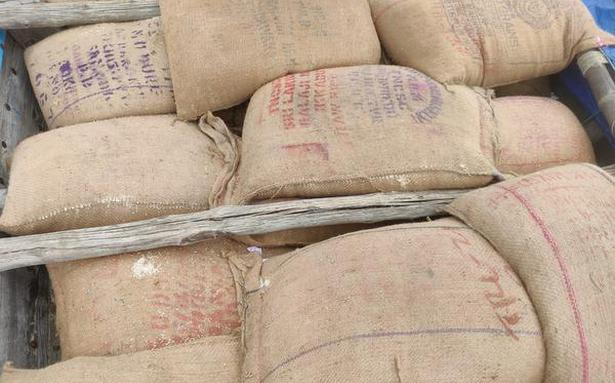 Two held near Chennai for smuggling five tonnes of ration rice to AP