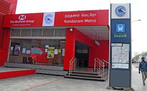 Chennai Metro Rail's station walls now wear new colours. Here's why