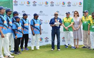 Friendly cricket match with Australia ends in tie