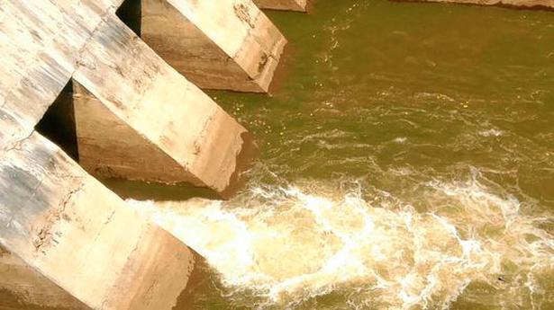 Krishna water on its way to the city from Kandaleru