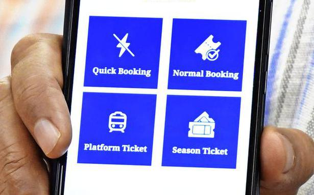 Soon book train tickets via UTS app even at stations
