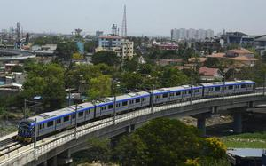 Chennai Metro Rail conducts another trial run with 2.5 minute frequency