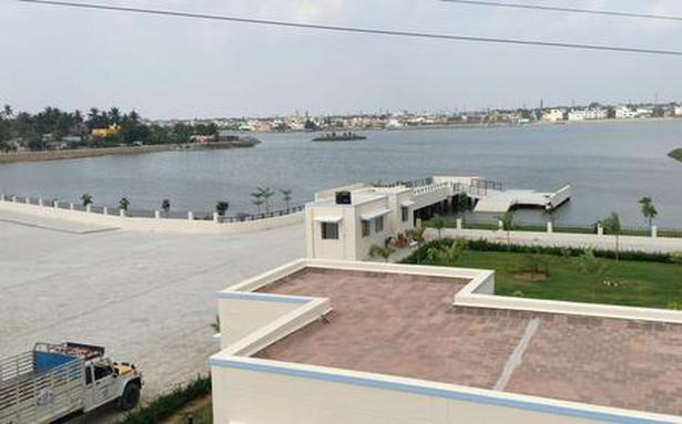 Eco-park at Paruthipattu lake to be ready by month-end