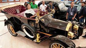 MGR's Dodge Kingsway, Rajini's Suzuki bike steal the limelight at auto show