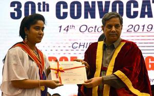 1,081 receive degrees at SRIHER convocation