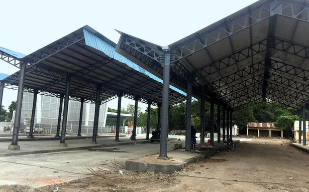 Old Mint bus terminus is up and running now