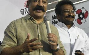 A great beginning, says Kamal Haasan