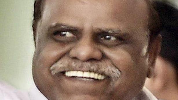 Justice Karnan seeks parole