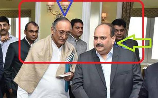 Spat over pictures of Bengal FM with Choksi