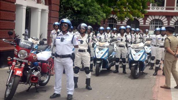 Kolkata gets all women police squad