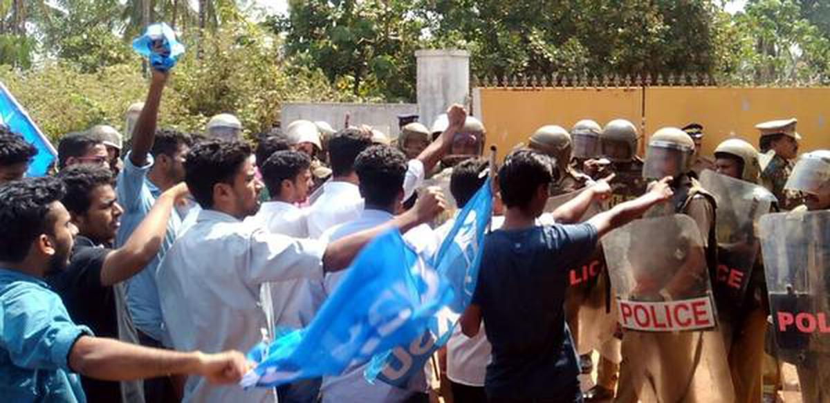 After students' protest, KMCT College closes down