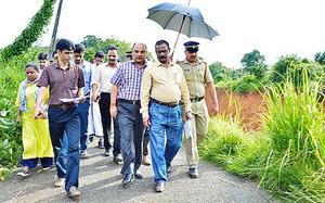Central team visits Iritty