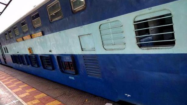 Derailment averted after tracks sink at Boisar railway station - The Hindu