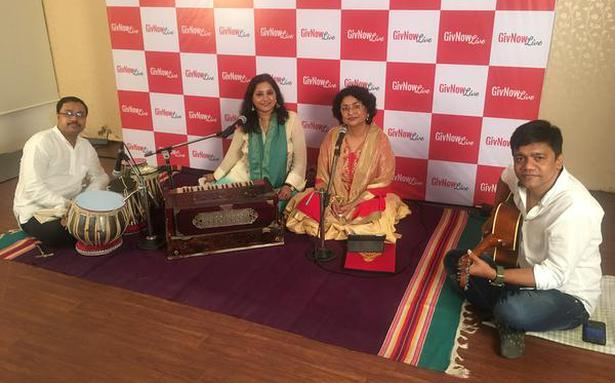 At India's first online concert, an audience of donors