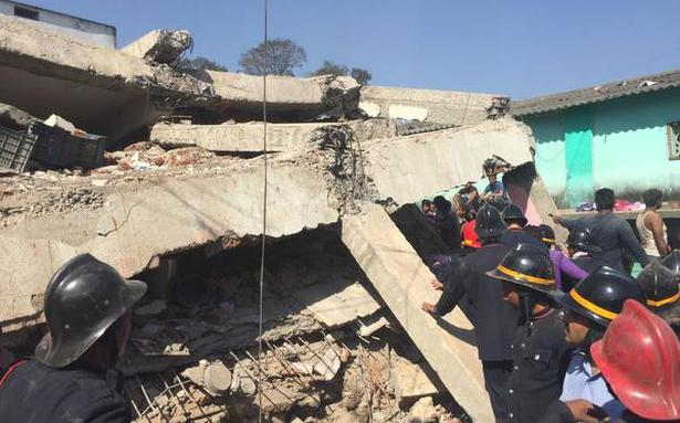 Building collapses in Bhiwandi near Mumbai; many feared trapped