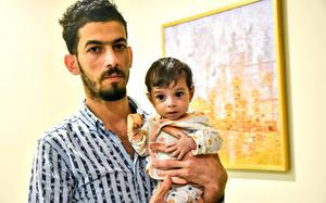 Iraqi baby gets a second chance at life after heart surgery