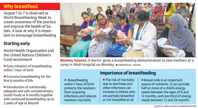 Babies get mother's milk in first hour at Vile Parle
