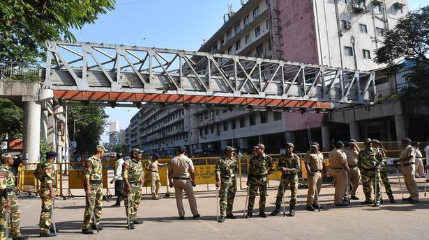 BMC suspends 2 over fatal bridge collapse