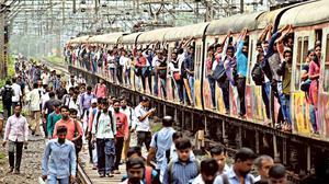 Mumbai commuters still court death on railway tracks