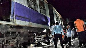 CR services hit as train derails at Kurla