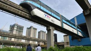 Mumbai Monorail: a trip to nowhere