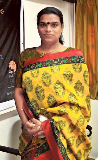 EC's Goodwill Ambassador Gauri Sawant