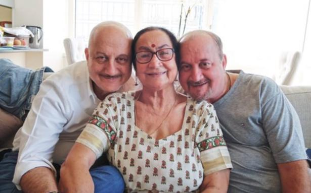 Anupam Kher's mother, brother test positive for COVID-19