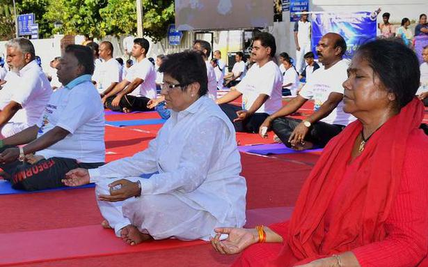 Leaders, officials show the way to fitness