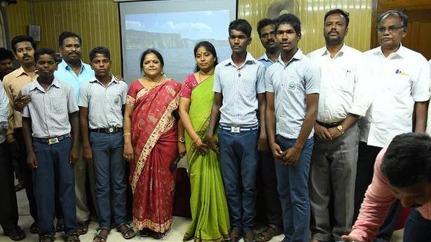 Panithittu govt. high school wins Paris science contest