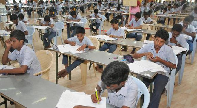 Image result for tamil school girls in exam
