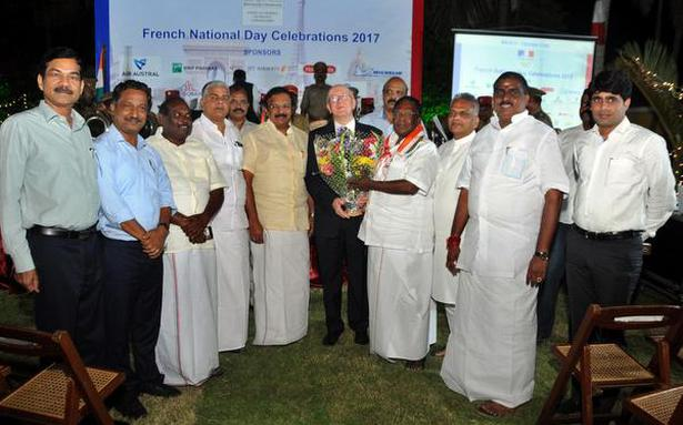 French National Day celebrated