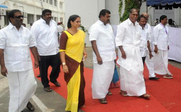Rangasamy says there is no rift in AINRC