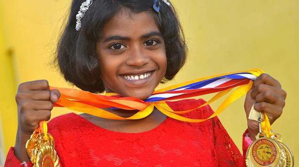 Local girl wins gold medal in national pentathlon