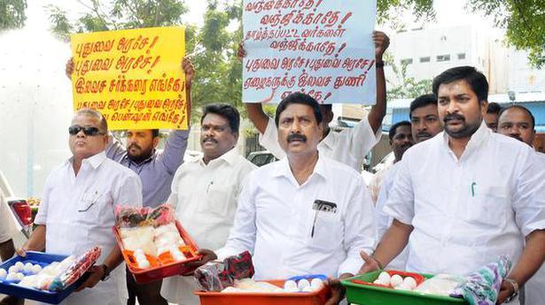 Minister blames monsoon for shortage of eggs