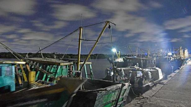 Fishermen in troubled waters