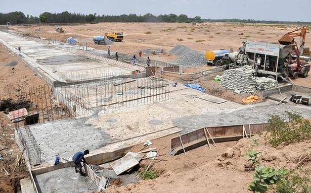 A.P. government 'strengthens' structure across Palar tributary