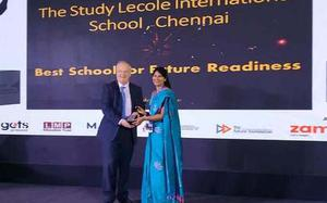 Study-L'école gets 'Best School for Future Readiness' award