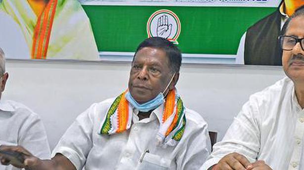Seizure of gold coins in Karaikal reveals BJP's use of money power: former CM