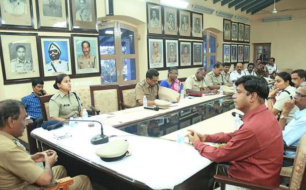 Police hold review meet on idol immersion