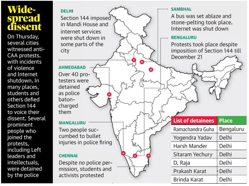 Backgrounder | Section 144, a vestige of colonial rule