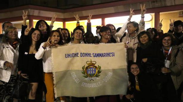 San Marino votes to legalise abortion in historic referendum