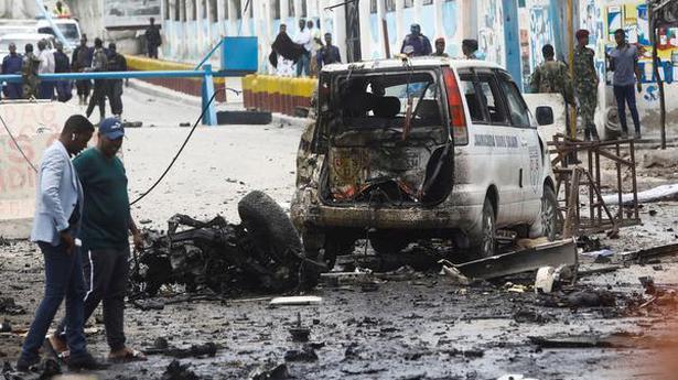 Eight dead as al-Shabab claims blast in Somalia's capital