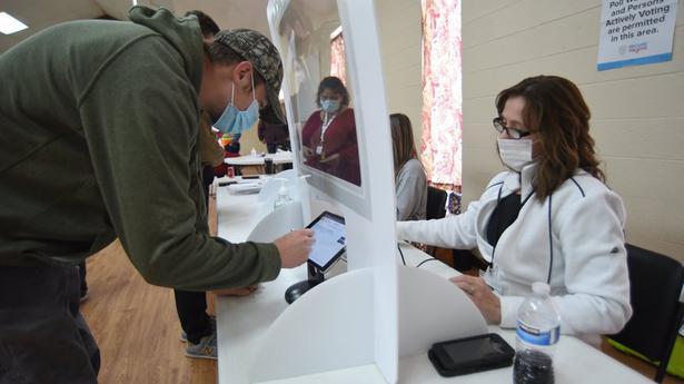 Georgia deciding U.S. Senate control in election's final day