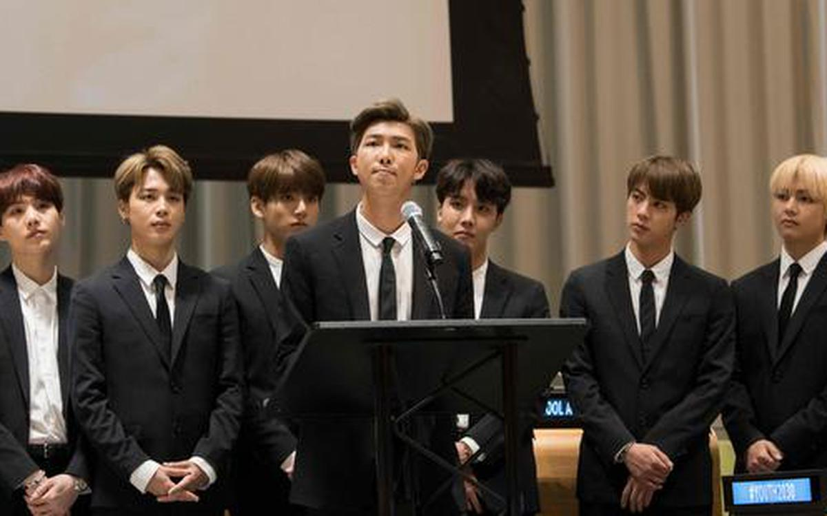 K Pop Band Bts Goes Viral With Un Plea To Young People The Hindu