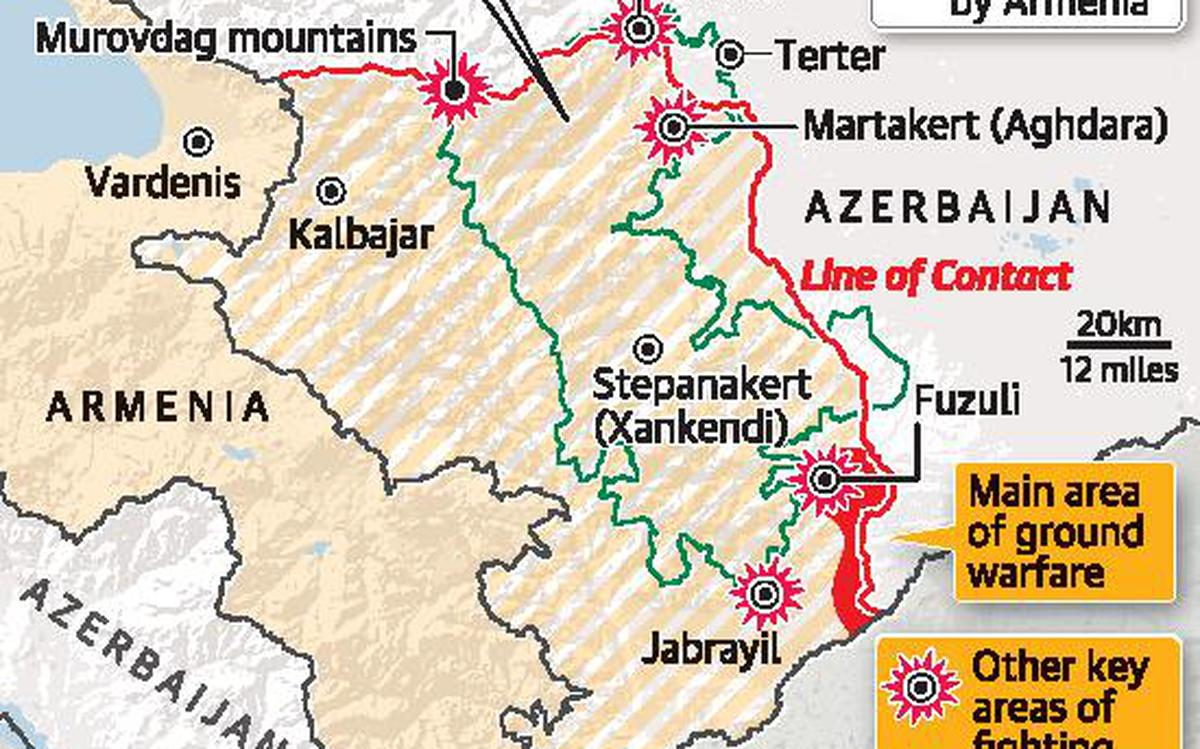 Nagorno Karabakh Battle For The Black Mountains The Hindu