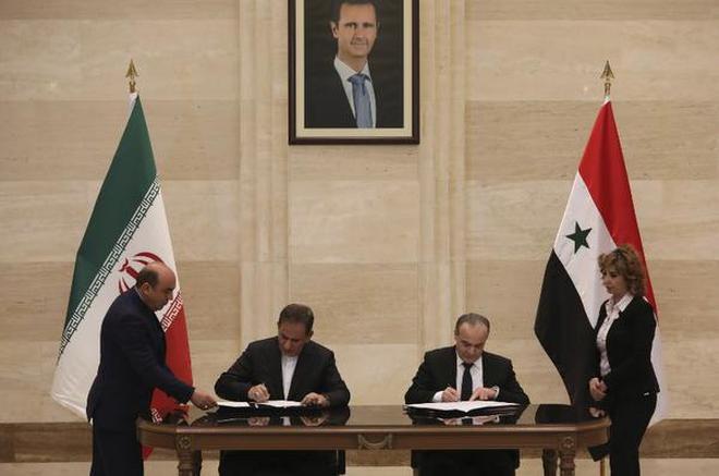 Syria And Iran Sign Strategic Economic Agreement The Hindu