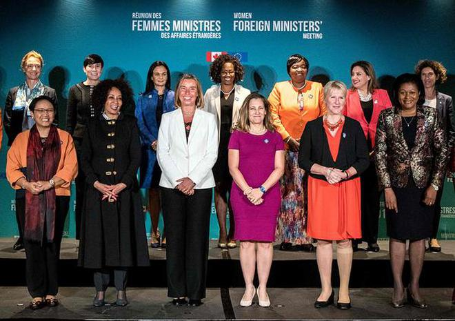 Women Foreign Ministers hold meet